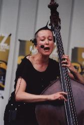 Sabine Worthmann beim Festival 'Jazz in Hamburg' 1997