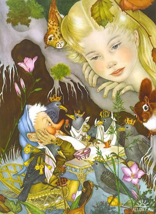 Illustration von Adrienne Segur